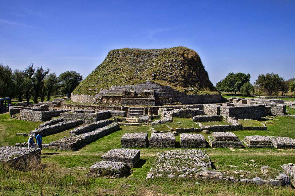 Dharmarajika stupa Taxila