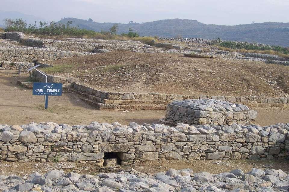 Taxila Sirkap Jain Temple