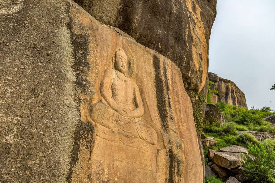 Swat Jahanabad Buddha Stone Carving