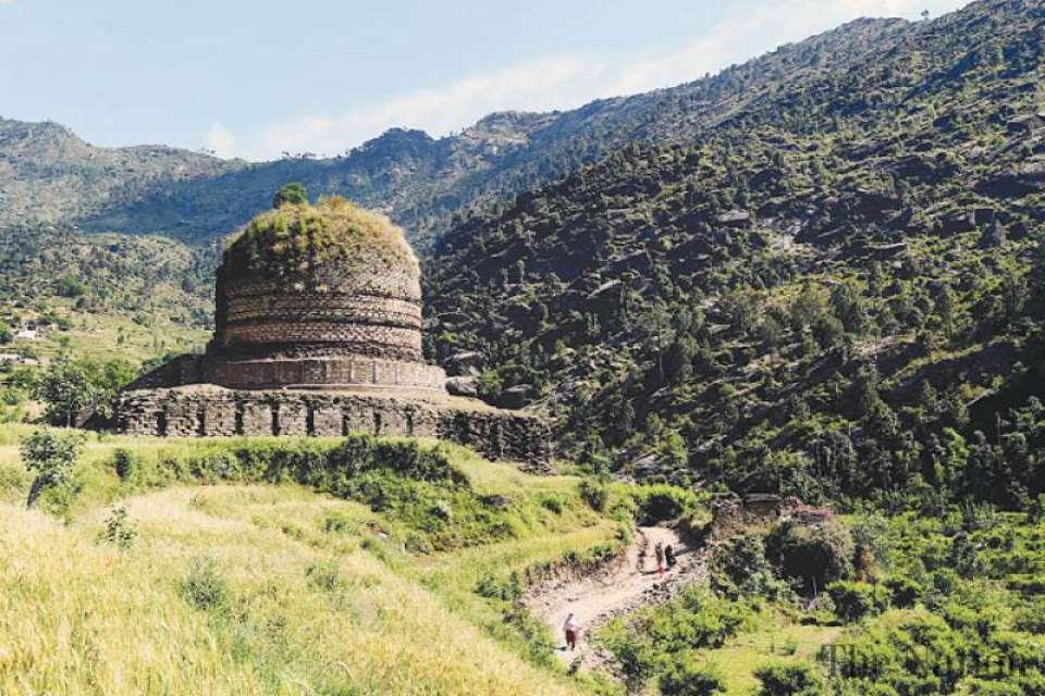 Buddhist Stupa Swat