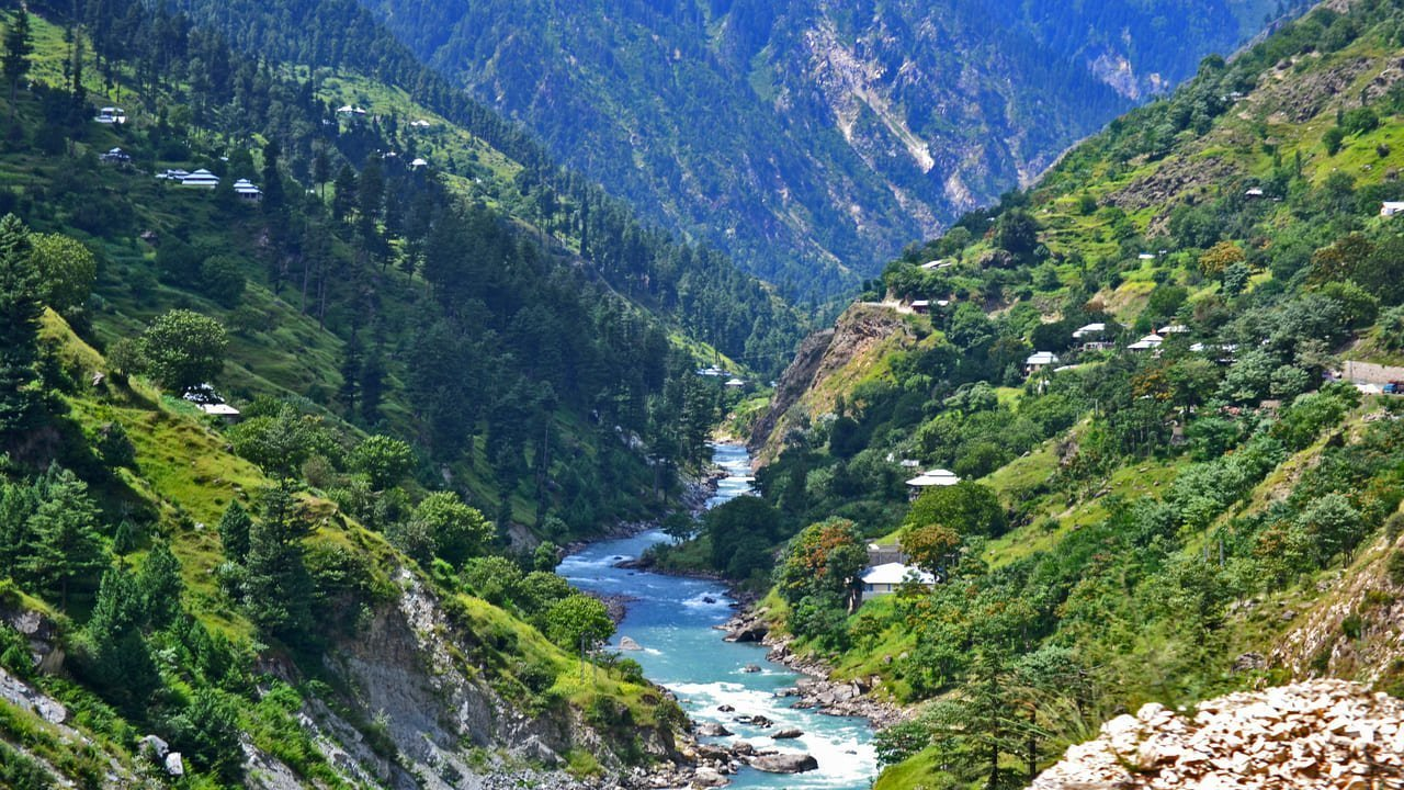 River Kunhar kaghan valley